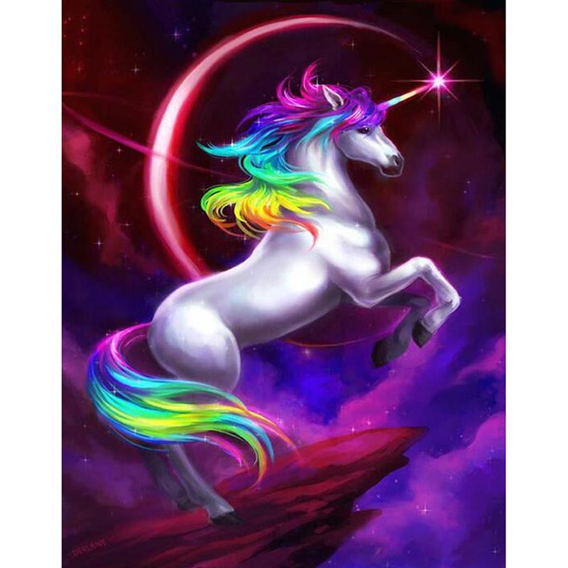 malen nach zahlen  purple unicorn  malen nach zahlen eu