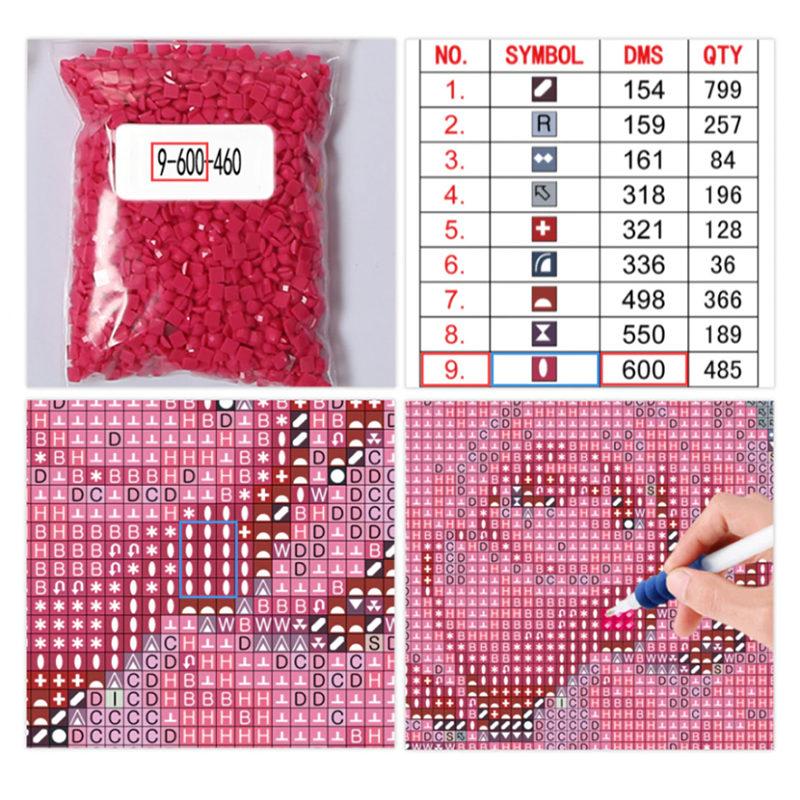 410 Diamond Painting Vorlagen Ideen Kreuzstichmuster 3 6