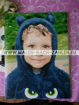 Malen nach Zahlen Foto - 40x50CM photo review