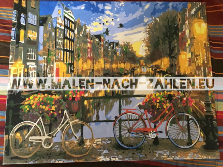 Malen nach Zahlen - Amsterdam am Abend photo review